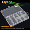 chinese plastic fishing box for for hook lead sinker swivel