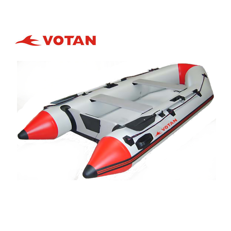 Swift PVC inflatable boat with Plywood, Aluminum,air deck floor,3.3m