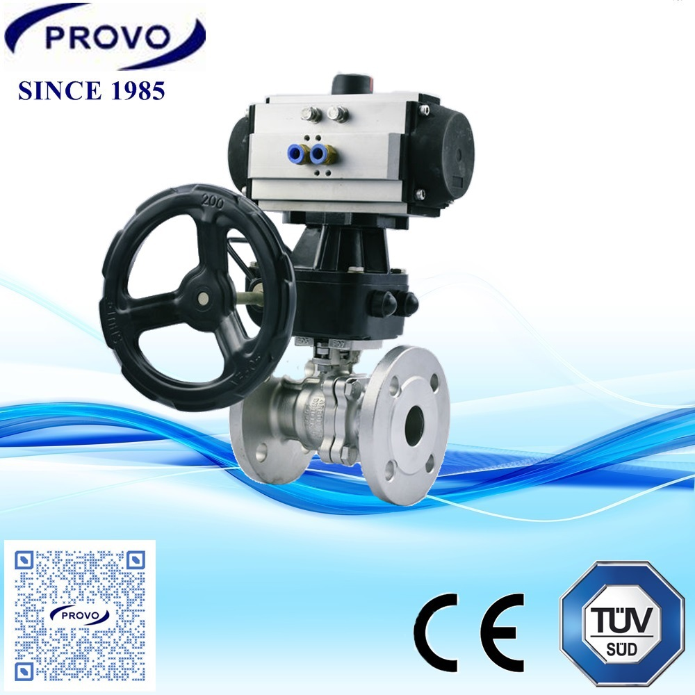 Hand wheel operated water system ball vlaves