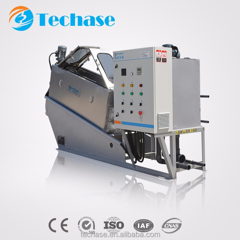 Environmental dewatering decanter centrifuge system