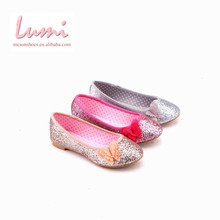 Customized Kids Ballet Blingbling Attractive Children Flat Shoes