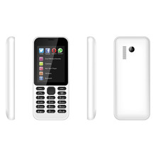 "Feature Phone 2.4"" Screen BL-4C 800MAH Battery 215 Feature Phone Support Bluetooth For OEM Order"