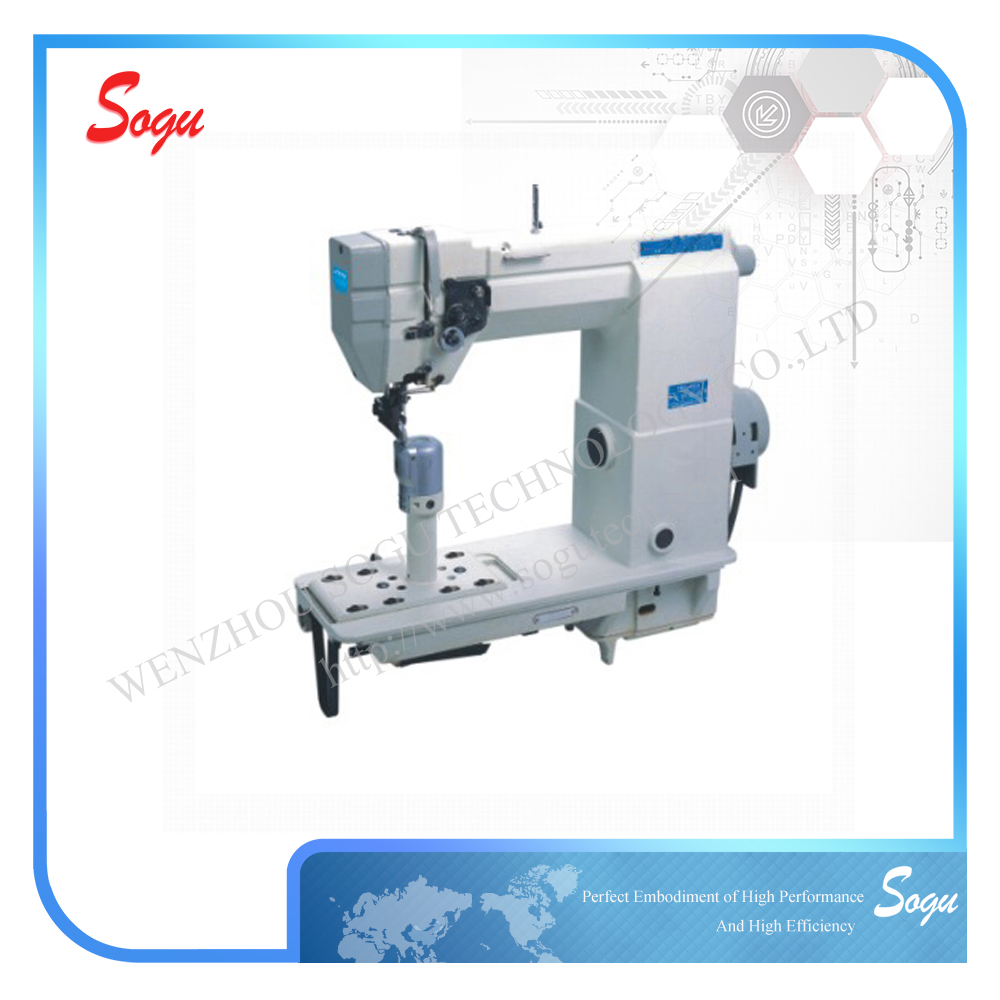 Xs0059 Single Needle Driver Roller Lower Post-Bed Sewing Lockstitch Machine