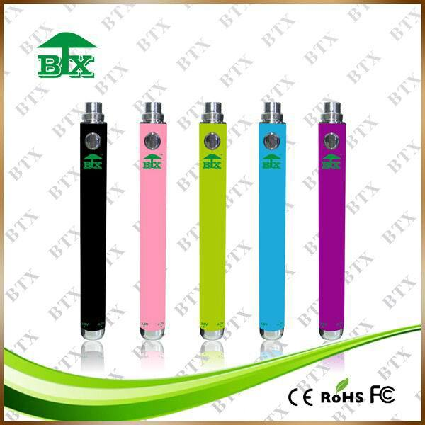 1.6ml atomizer e cigarette evod battery rechargeable vape pen battery ecigarette battery