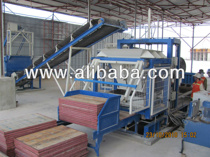 FULL AUTOMATIC CONCRETE PAVERS AND BLOCK MAKING FACILITY