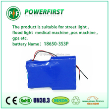 OEM electric toys lithium battery pack / led solar light battery pack / game controller battery