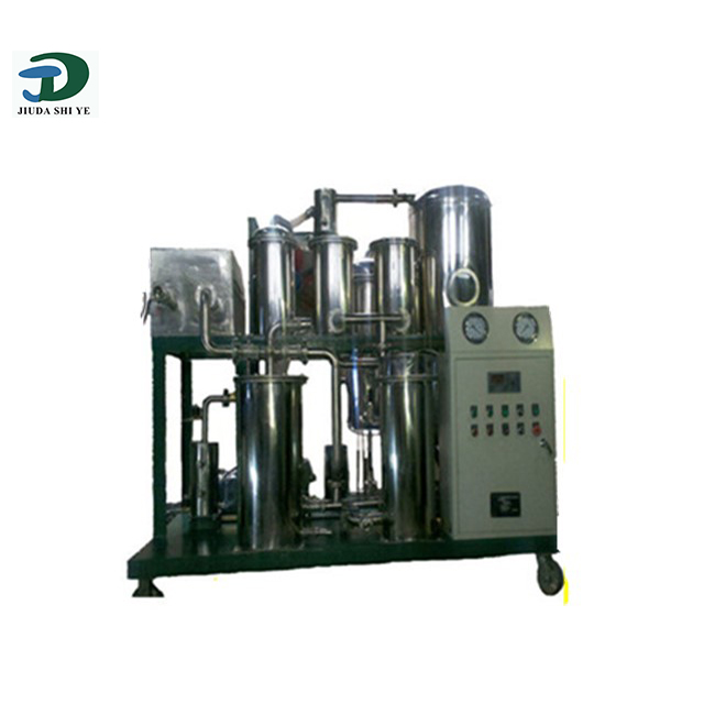 Best automated biodiesel complete sets of equipment mini biodiesel refinery processor