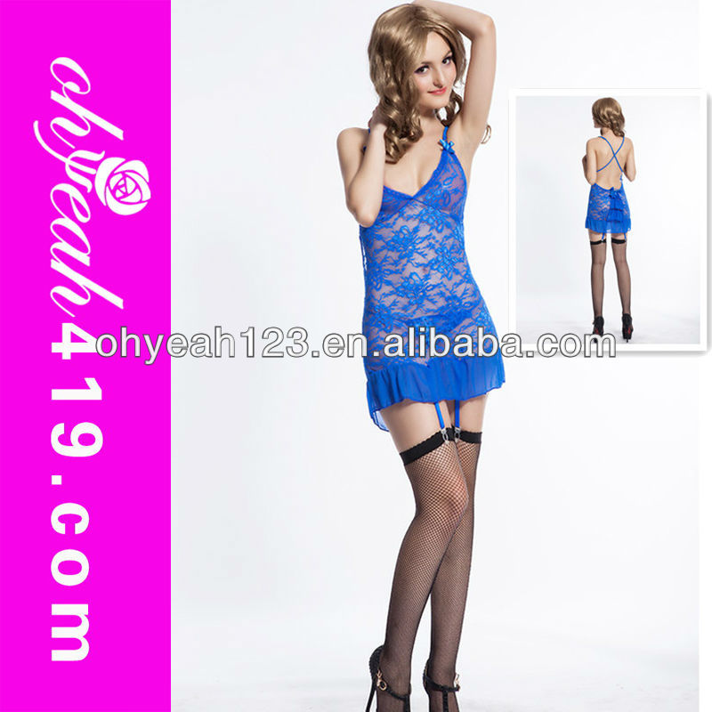Hot sexy woman babydoll lingeries sexy blue nighty,sexy transparent nighty girls,transparent nighty