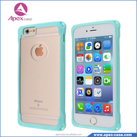 Hot Selling Scratch Resistant TPU PC Combo Mobile Phone Case for iphone 6