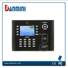 Thumb Print Machine,Real Time Fingerprint Dection Time Clock M880
