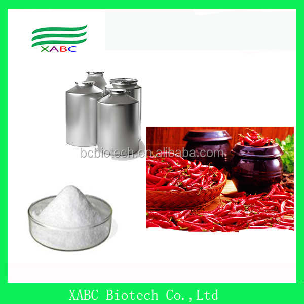 100% Natural pure Capsaicin, Capsaicine Powder