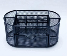 China leverancier online verkoop Amazon hotsales Metalen Mesh Office Desktop Organizer