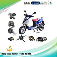 Whole sale high quality handsome boy 1 generation scooter parts gy6 engine 50cc 80cc 125cc parts