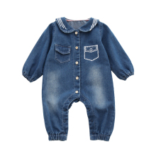 Newborn Baby Clothes Navy Cowboy Romper Online Shopping China Clothing