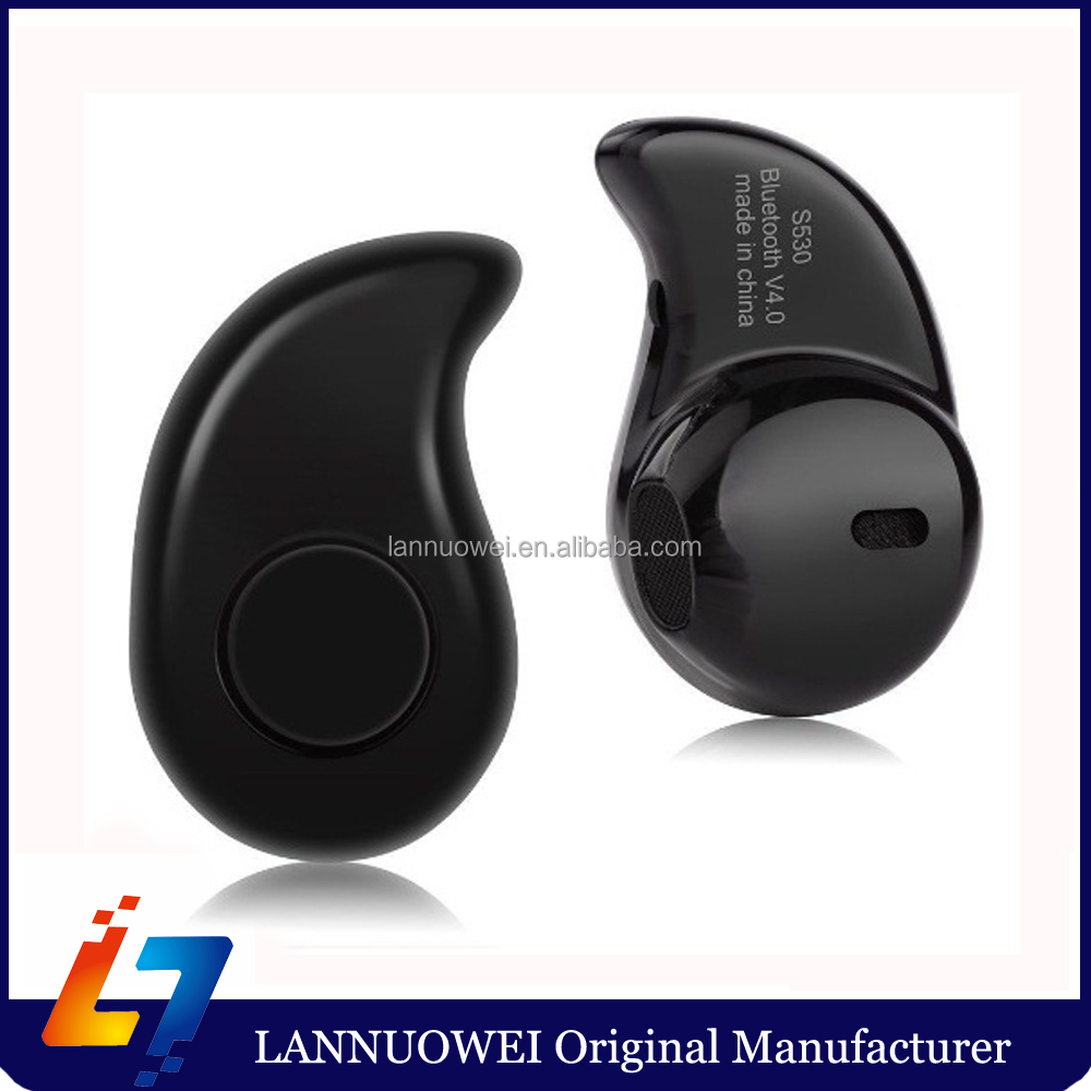 Invisible Style Bluetooth 4.1 Headphone Manufacturer Bluetooth Headphone Without Wire S530
