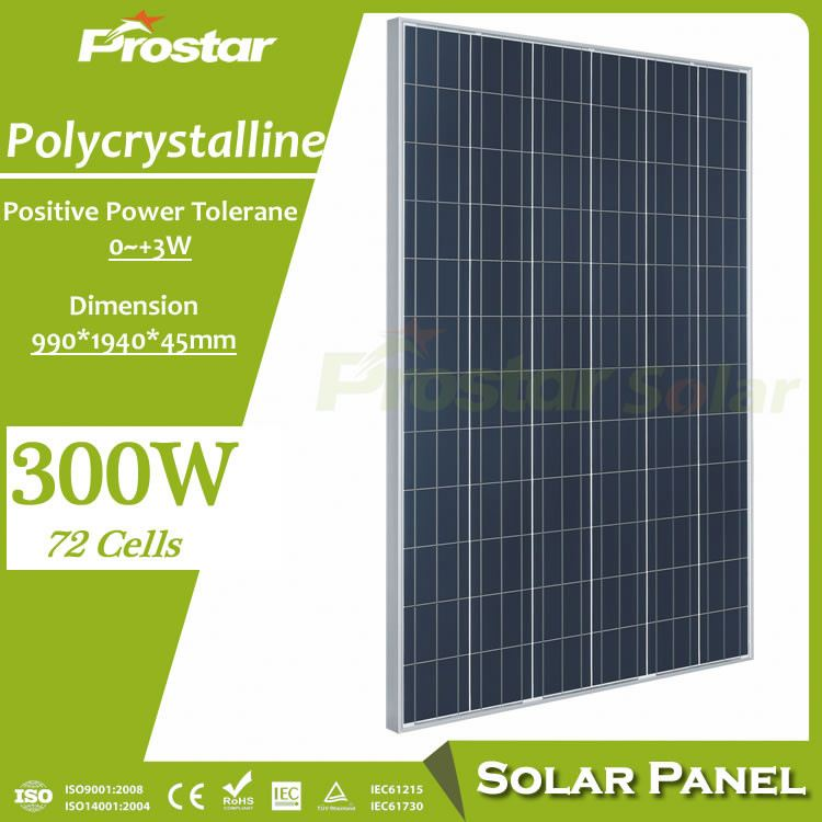 poly 300w top quality best price cheapest solar panel glass for A grade cell