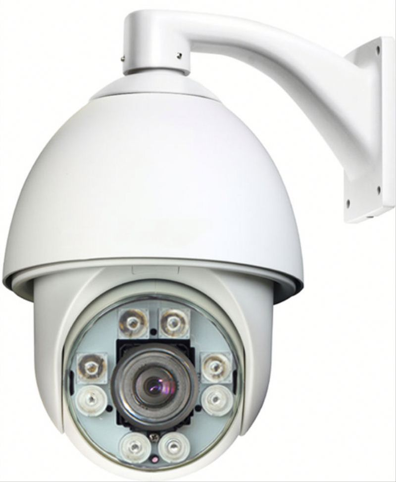700TVL Auto-Tracking 30X High-Speed 150M IR Dome pan tilt zoom auto focus camera with Wall Bracket