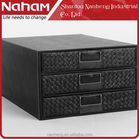 NAHAM Office Top Grade File 3 Layers storage drawers