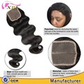 Human Hair Factory Best Price Top Quality Cambodian 100% Young Virgin Human Hair 8-30 inch Lace Closure