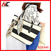 Alibaba china manufacturer ladies canvas shopping bag as lady handbag 2013