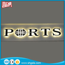 Most popular Flex shining oval open led letter sign