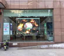 Indoor FRD-TW-P20 Glass Transparent LED display video wall