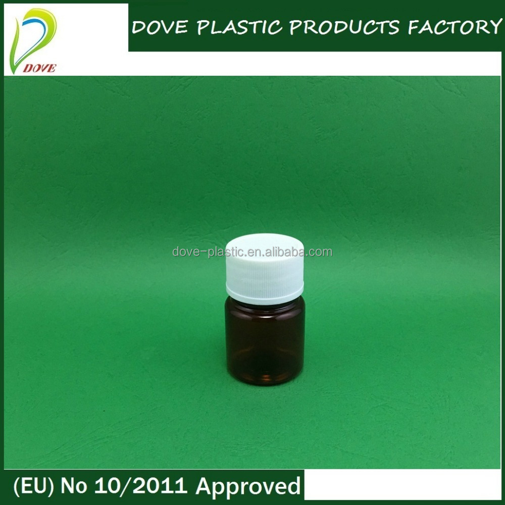 30cc plastic bottle 30ml plastic container with lid screw lid for vitamin c tablet