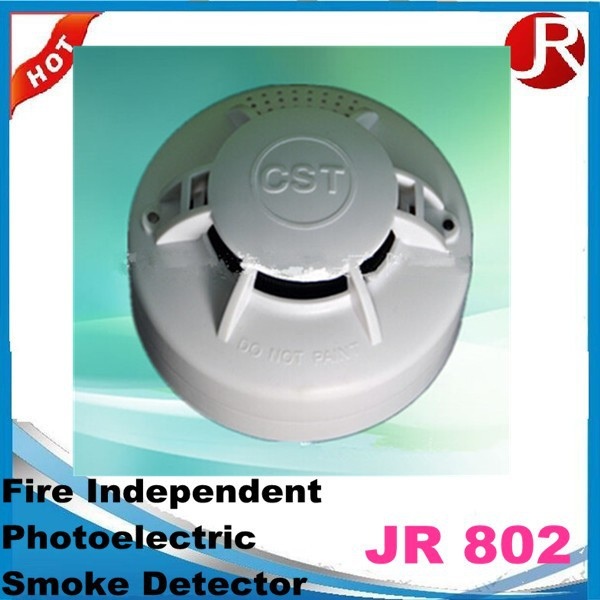 fire alarm battery 9v independant photoelectric smoke detector