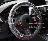 disposable clear plastic car steering wheel covers