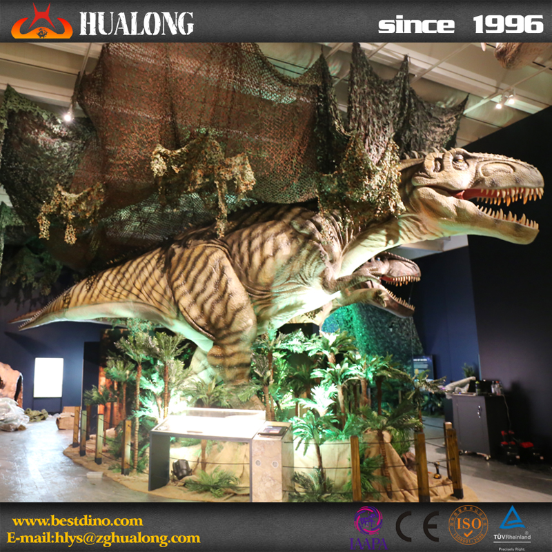 national dinosaur museum life-like artificial dinosaur king