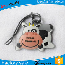 colored side release buckles/luggage bag cover/cow luggage tag