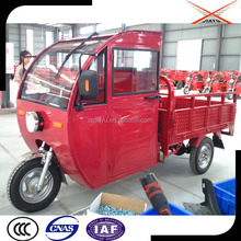 Cargo Three Wheel Motorcycle With Closed Cabin, High Quality Transport Tricycle for Multi-purpose Use
