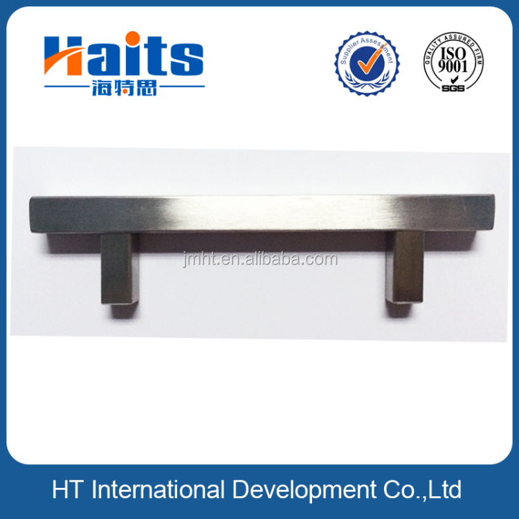 furniture cabinet square handle for bureau stainless steel 192mm handles