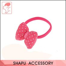 Manufacturer Sale Good Quality Wholesale Baby Hair Bow With Elastic Band