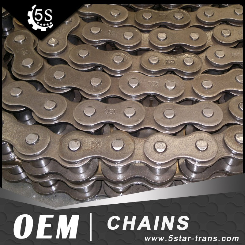 Best quality 160-2 Transmission duplex roller chain
