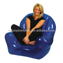 transparent adult inflatable chair for living room