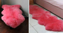 sheep fur plate / lamb skin fur plate