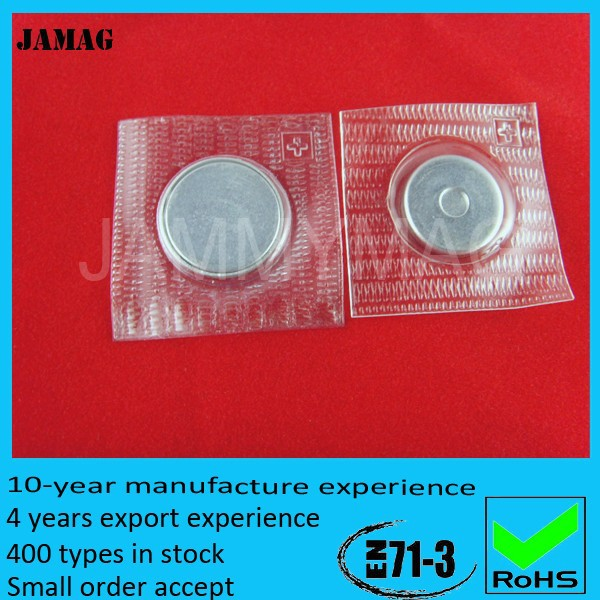 high performance plastic cover sewing magnet button for coats