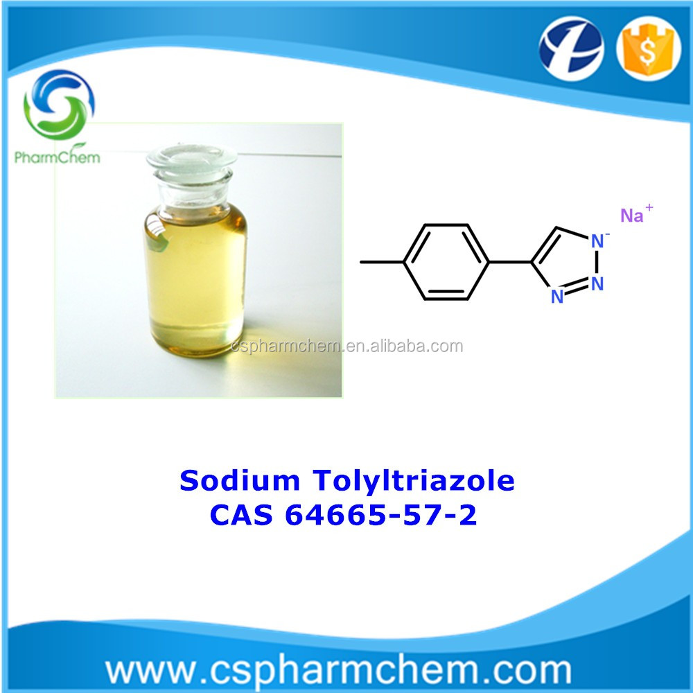 Sodium Tolyltriazole 50% CAS 64665-57-2 Cycling cooling water treatment