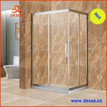 6mm Clear Glass Custom Size Sliding Shower Cubicle