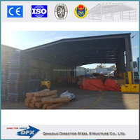 steel warehouse building prefabricated storage shed