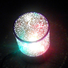 3D star night light baby light LED projection lamp