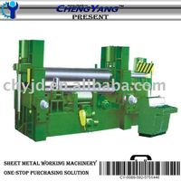 CNC Hydralic Four- Roller Universal Bending Machine