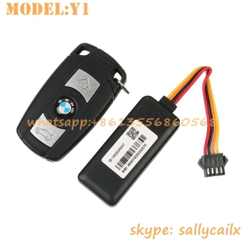 IP65 waterproof world smallest wide range input 9-80V engine immobilizer gps car tracker Model No: Y1