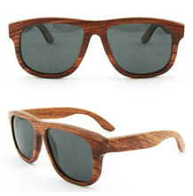 Italy design high quality 100% natural wood made in China wood sunglasses
