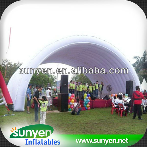 2014 most popular New Promotional Trade Show Outdoor Sports Polyester Inflatable Tent Waterproof