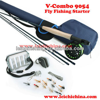 V-combo 9054 starter fly fishing combo