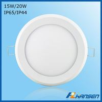 High lumen 20w SMD2835 IP44 aluminum 20w embeded round led ceiling light fixture