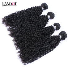 Indian Virgin Hair Kinky Curly 9A Grade Natural Black Color Extensions Unprocessed Indian Curly Remy Hair Weave Bundles