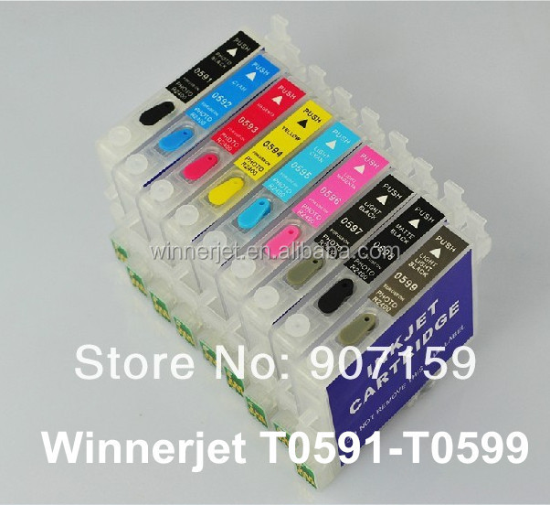 T0591 Ink Cartridge Compatible For Epson Printer R2400